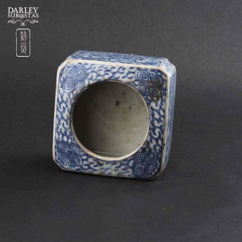 十九世纪 青花瓷盒 - 3
