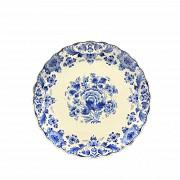 Ceramic plate of Delft s.XX, 1948