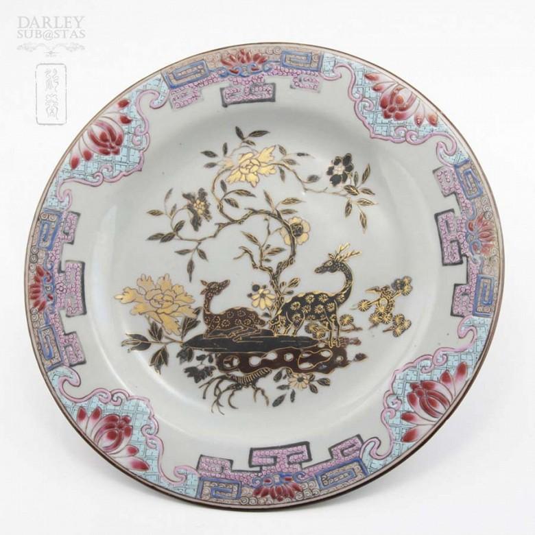 十八世紀 雍正粉彩盆 - 1