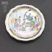 中国瓷小花碟