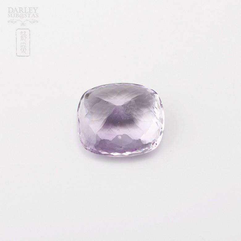 Natural amethyst 37.31 ctsquite clear translucent violet - 2