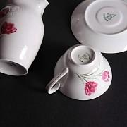 Juego café tulipanes - 2