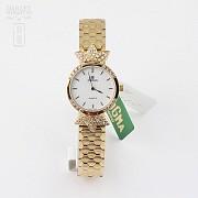 Reloj de Oro Señora Cyma con 70 Diamantes (nuevo)