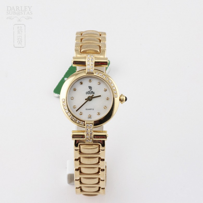 Reloj señora Dogma 317 417154 3553 Oro 18k Diamantes