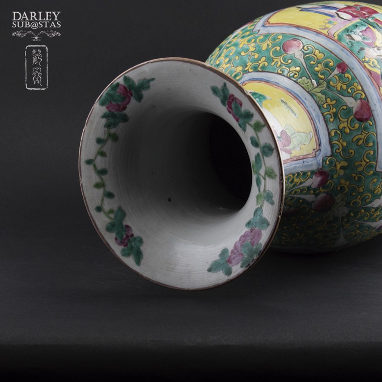 Chinese vase SXIX - 4