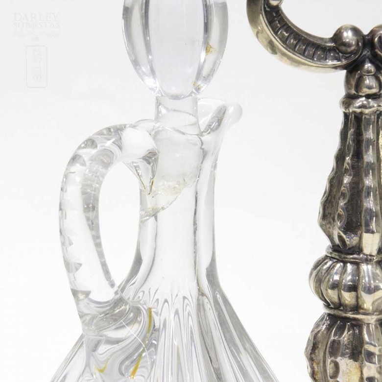 Vinagreras de plata - 5