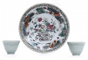 Lot of Chinese porcelain, 20th century