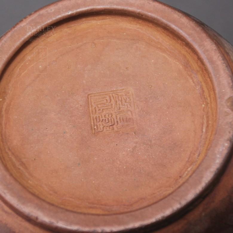 Preciosa Tetera  Antigua  de Yixing. - 4
