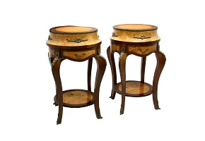 Pair of auxiliary furniture, 19th century
