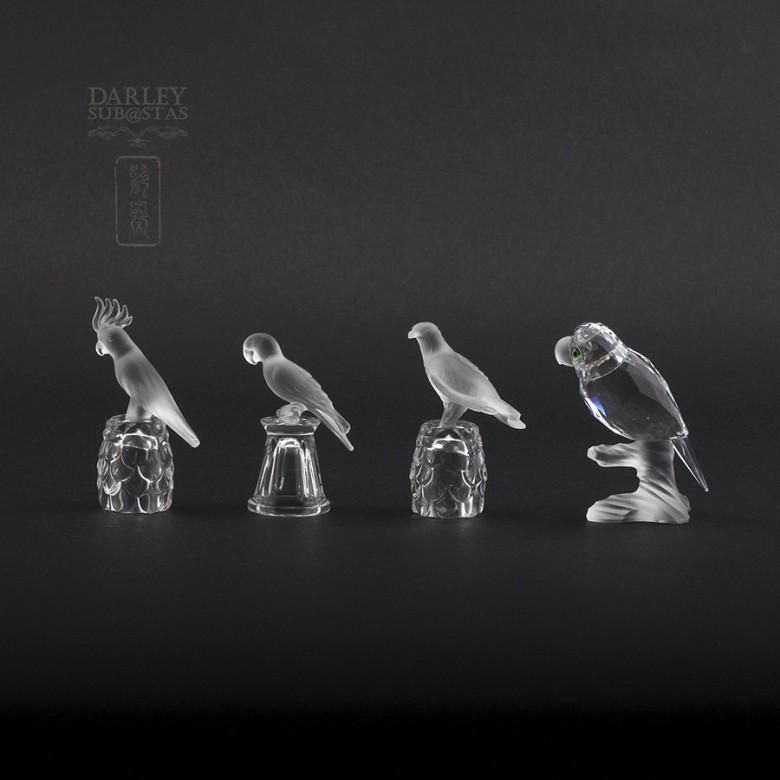 Aves en cristal de Swarovski - 5