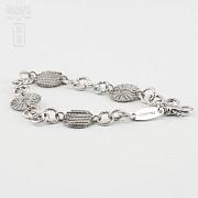 925银镀白金手链 - 3