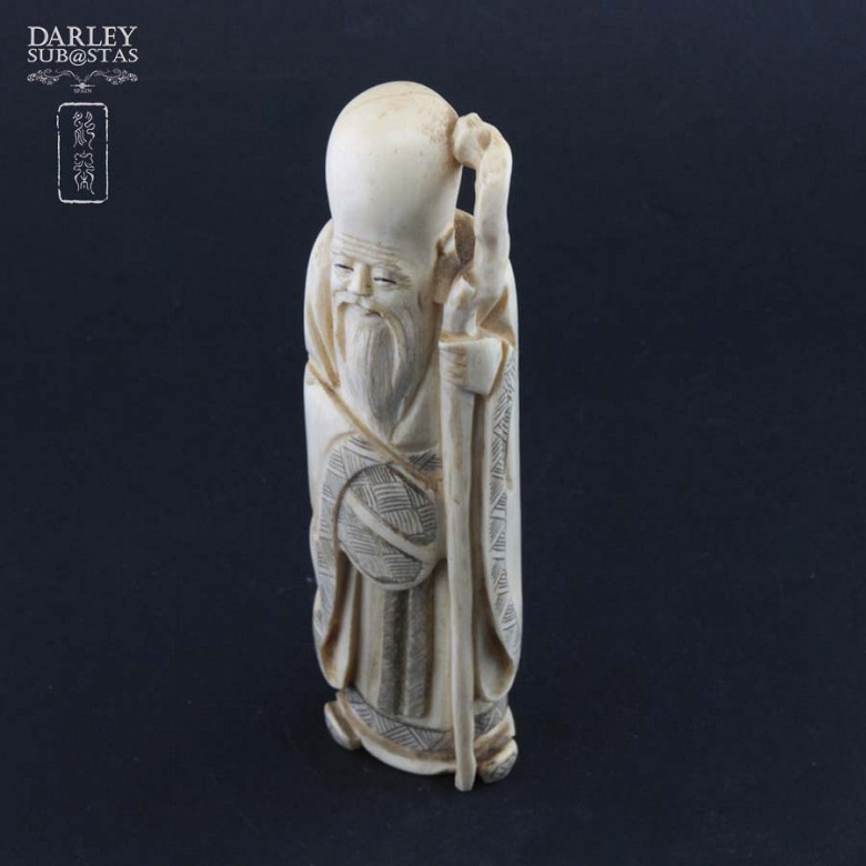 Wise Chinese ivory - 4