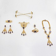套装JOIA. 项链,手链,大小吊坠,胸针,耳环,发叉