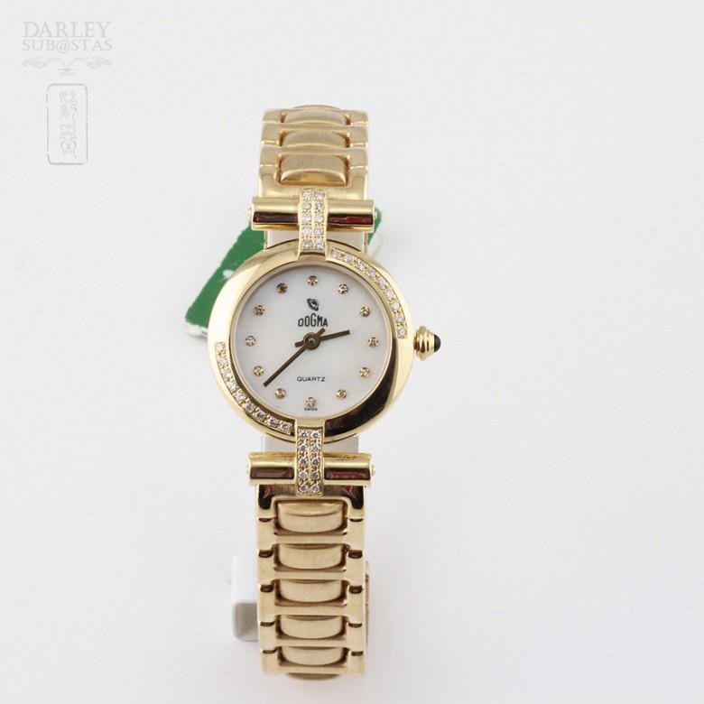 Reloj Mujer Dogma 317 417154 3553 Oro 18k Diamantes