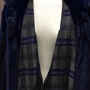 Nice blue mink fur coat - 2