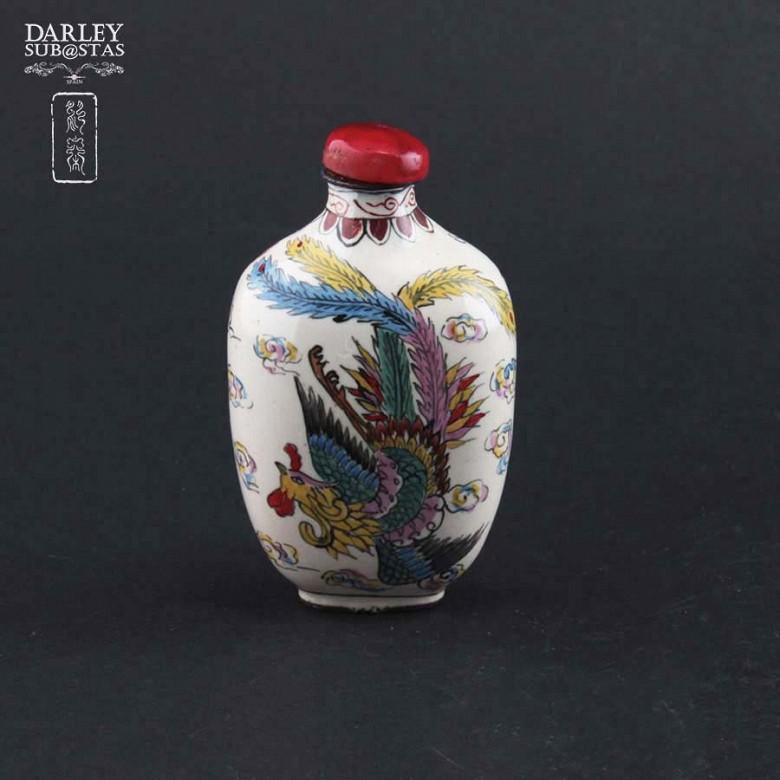 China monkfish bottle enameled metal - 1