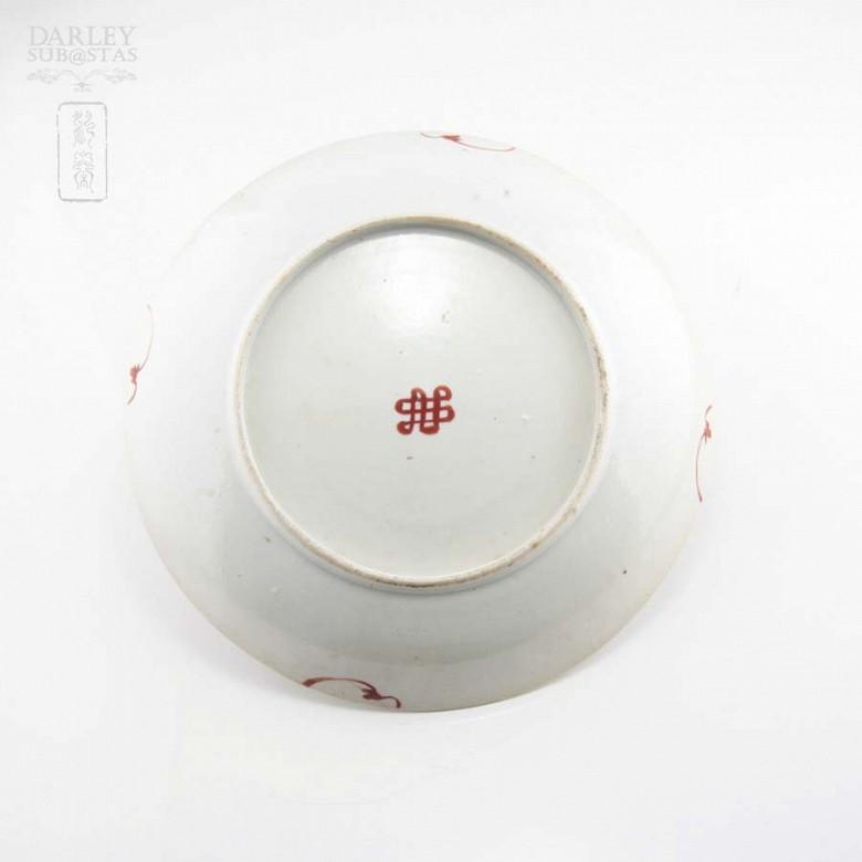 十九世纪彩绘瓷盆 - 3