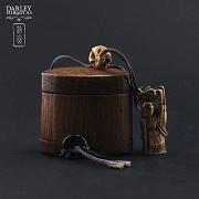 Precioso bolso de bambu - 2
