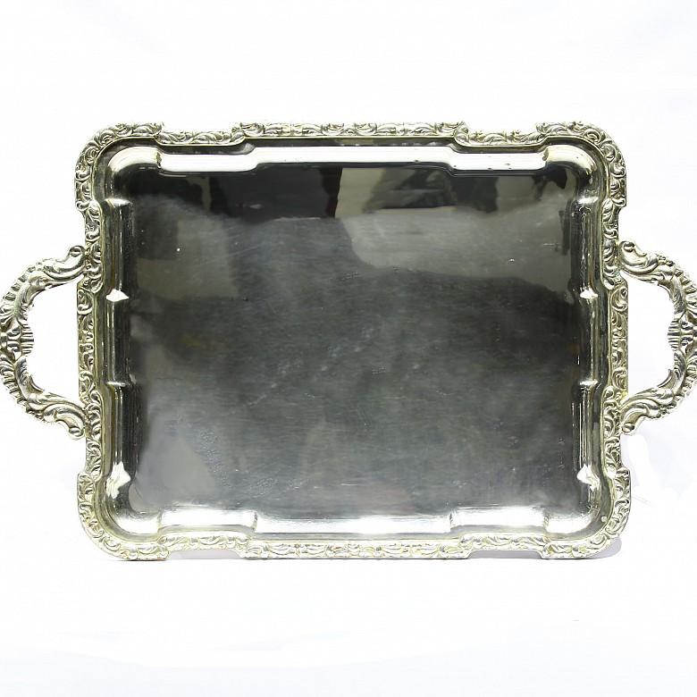 Bandeja de plata, med.s.XX