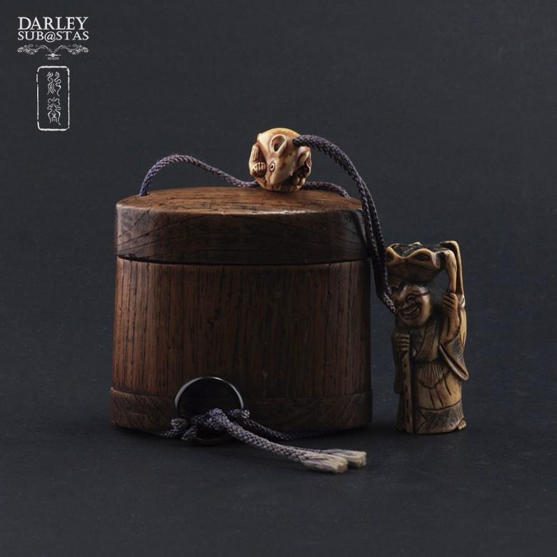 Beautiful bamboo bag - 2