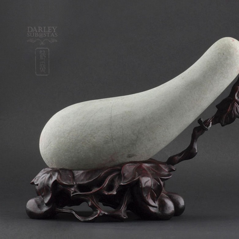 Eggplant natural stone - 3