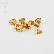 Lot 10 11.50cts citrines honey colored - 1