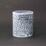 Preciosa  cerámica Antigua Dinastía Qing. - 1