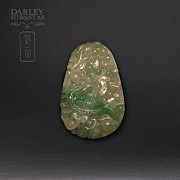 Jadeite Pendant with Dragon
