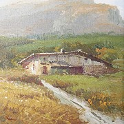 Oil on Canvas - 1