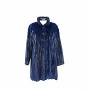 Nice blue mink fur coat