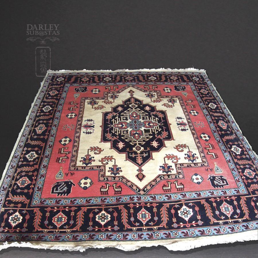 Subastas darley for Restauracion alfombras persas
