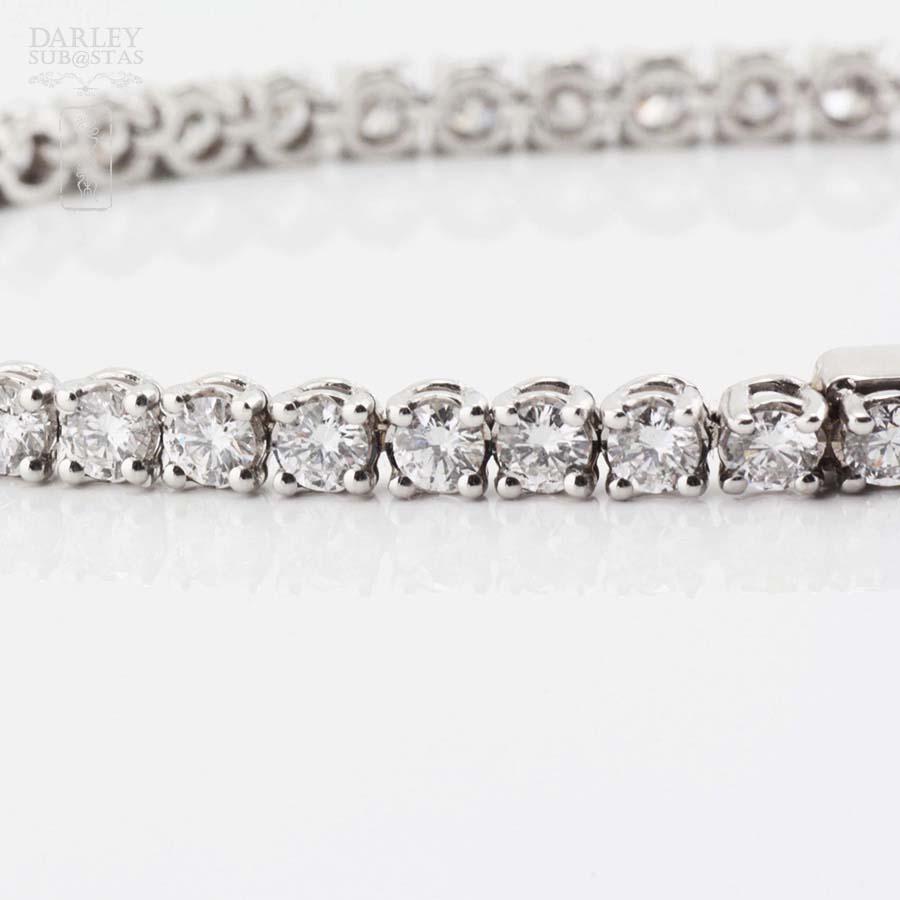 cd562b5c36a1 Pulsera en oro blanco 18k y diamantes 6.00cts