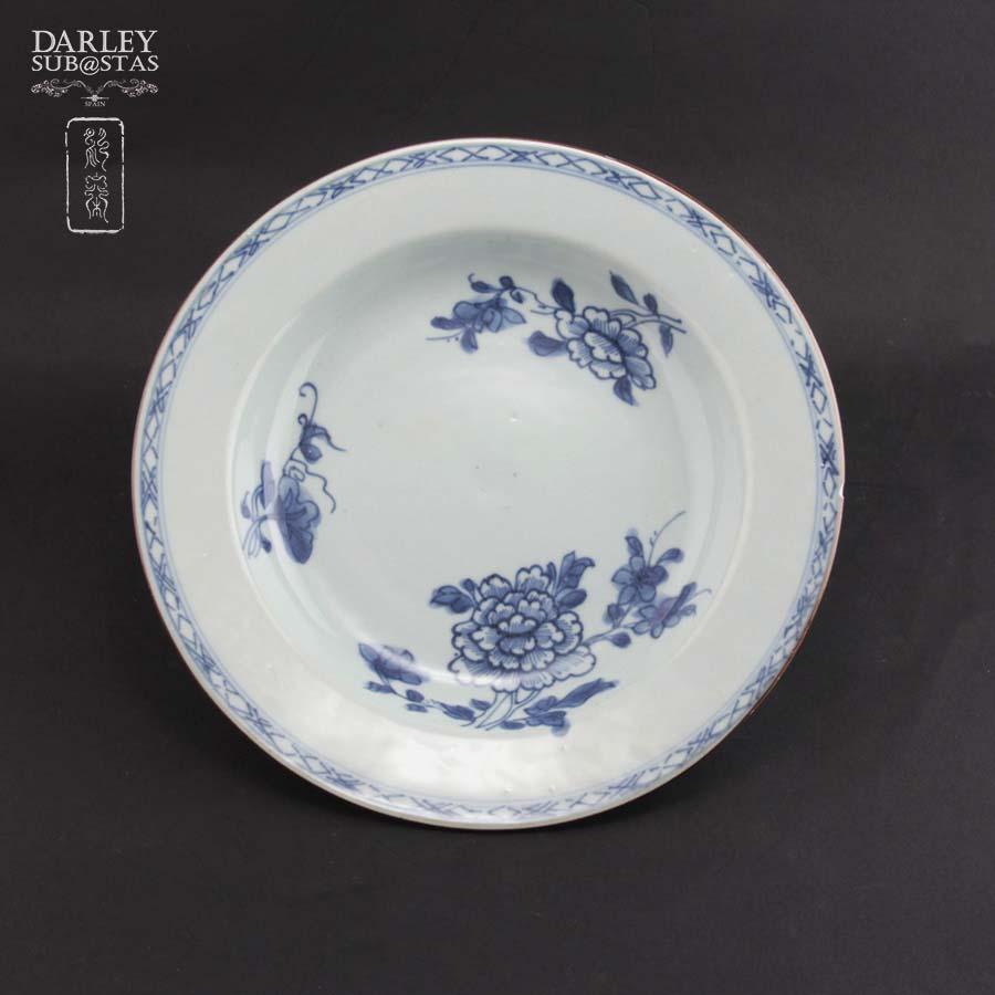 Pareja de platos porcelana china s xviii for Platos porcelana