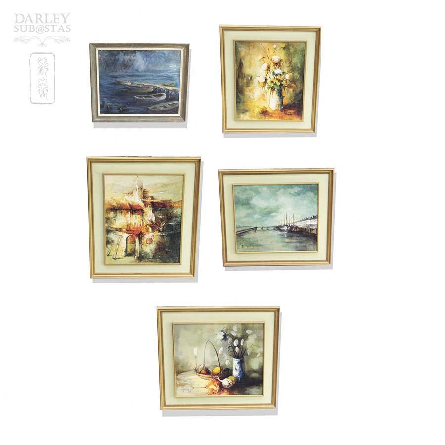 Cinco cuadros