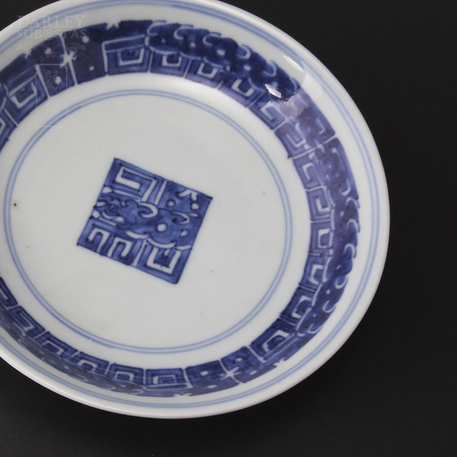 Plato antiguo de porcelana china for Platos porcelana